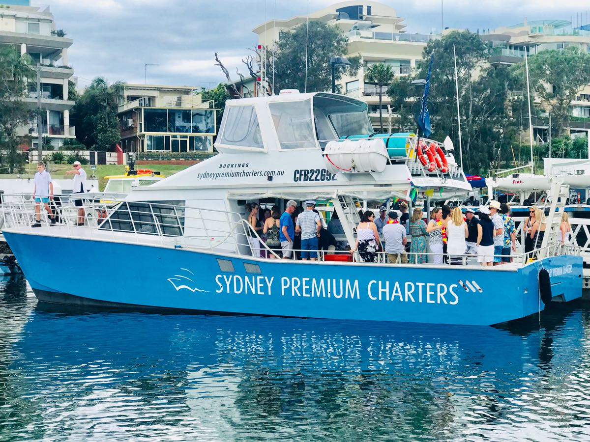 Cronulla Party Boats Bucks Hens Birthdays