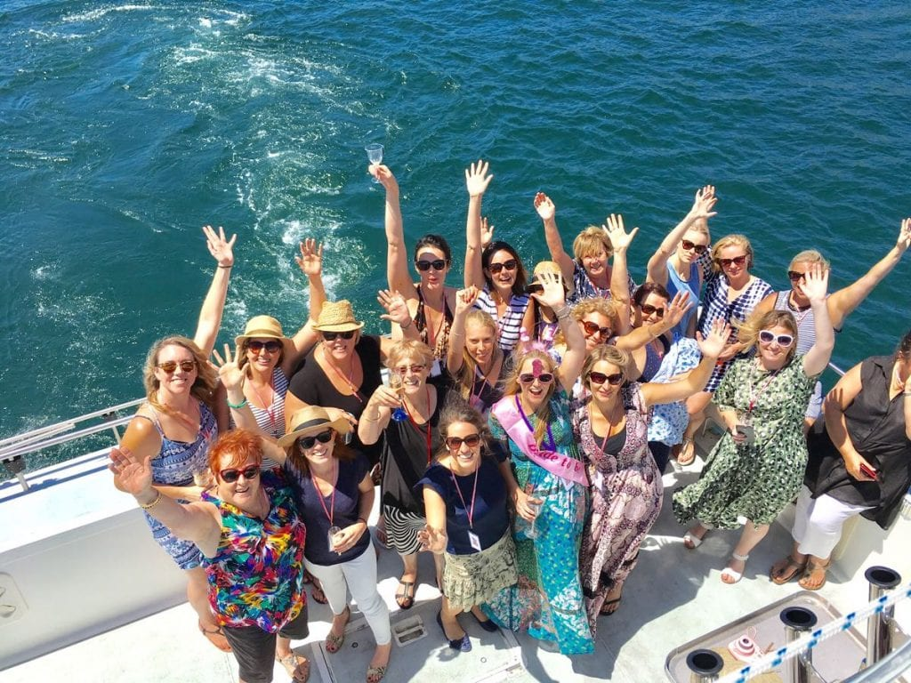 Hens party Sydney Cruise and Booze