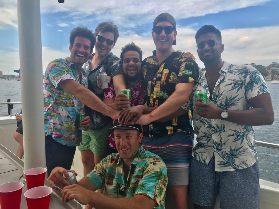 bucks party river cruise