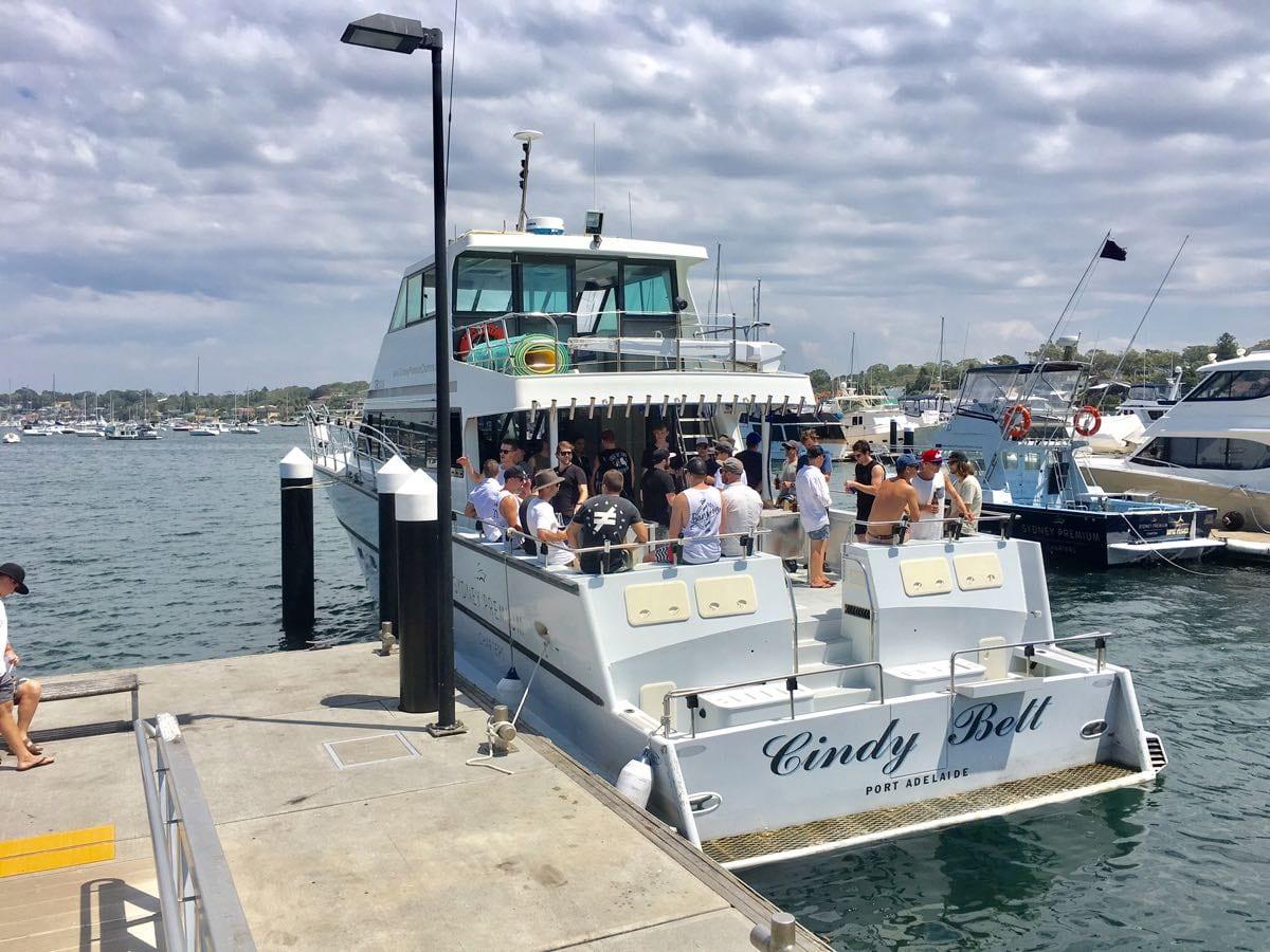 Bucks Party River Cruise Cronulla-01