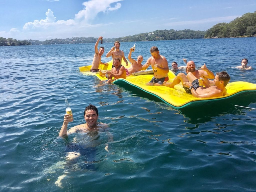 Bucks Party River Cruise Cronulla-03