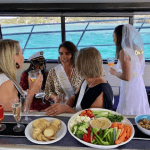 Hens party cruise catering Cronulla