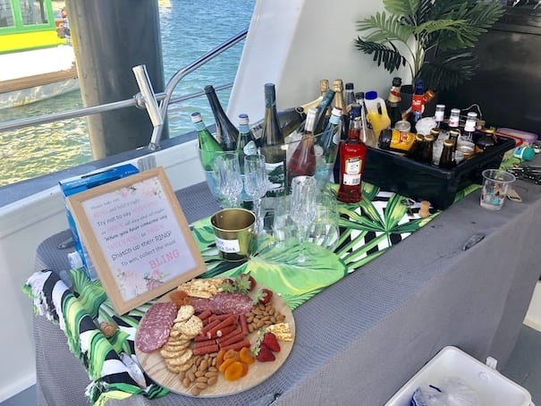 Cronulla Party Boats BYO Drinks